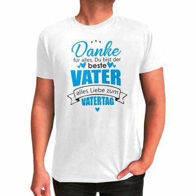 "T-Shirt ""Alles Liebe zum Vatertag"""