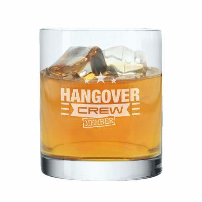 "Whiskyglas ""Hangover Crew | Member"""