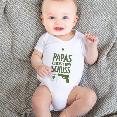 """Babybody """"Papas bester Schuss"""""""