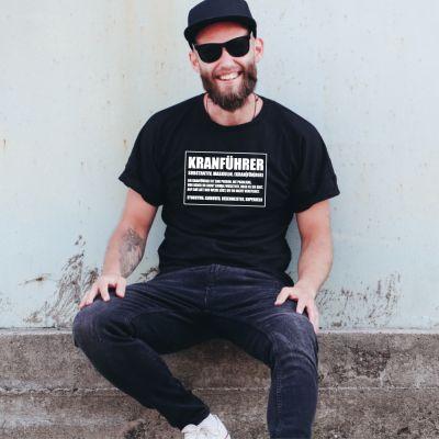 "T-Shirt ""Kranführer - Definition"""