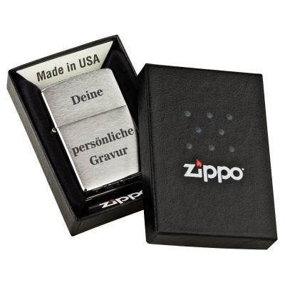 Personalisiertes Zippo Feuerzeug mit persönlicher Gravur