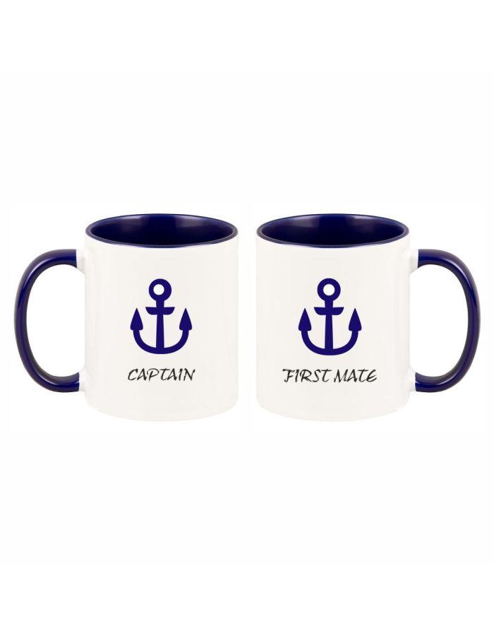 """Tassen-Set """"Captain & First Mate"""""""