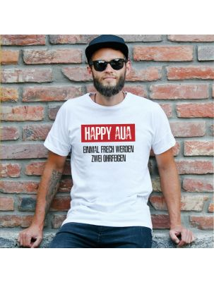"T-Shirt ""Happy Aua"""
