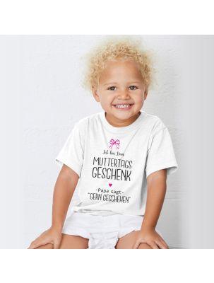 """Kinder T-Shirt """"Ich bin Dein Muttertags Geschenk"""""""