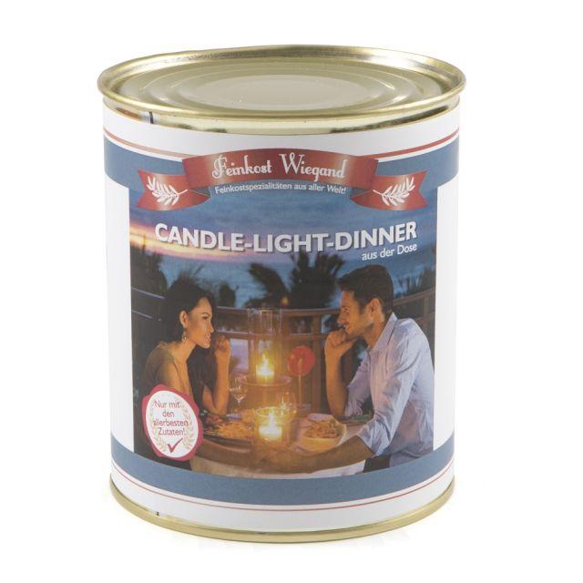 Candle-Light-Dinner aus der Dose