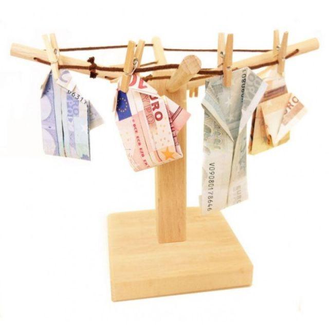 Geld Wäschespinne