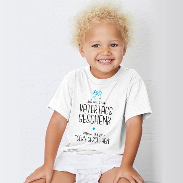 """Kinder T-Shirt """"Ich bin Dein Vatertags Geschenk"""""""