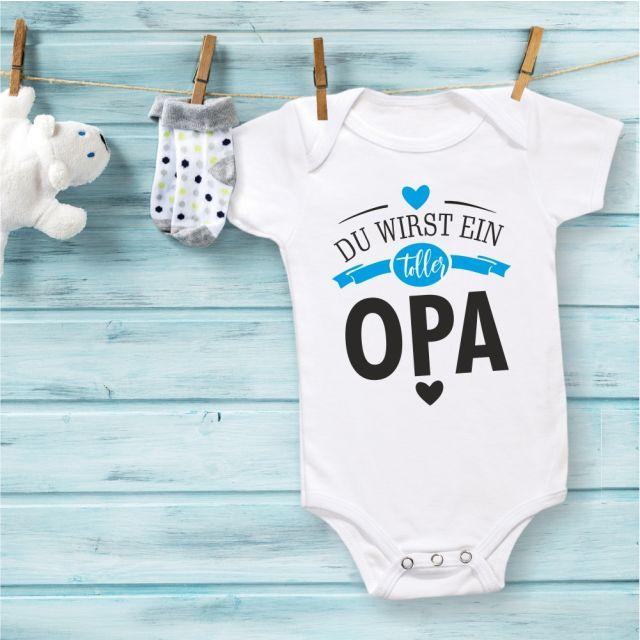 """Babybody """"Du wirst ein toller Opa"""""""