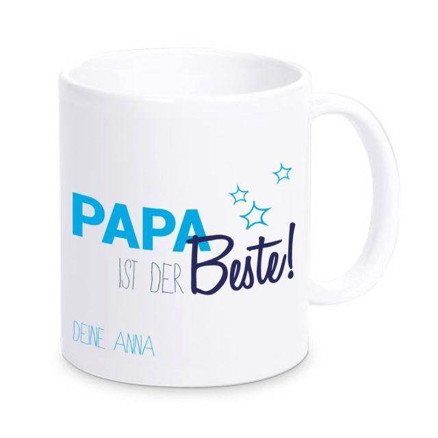 """Tasse """"Papa ist der Beste"""" - personalisiert"""