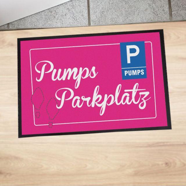 """Fußmatte """"Pumps-Parkplatz"""""""