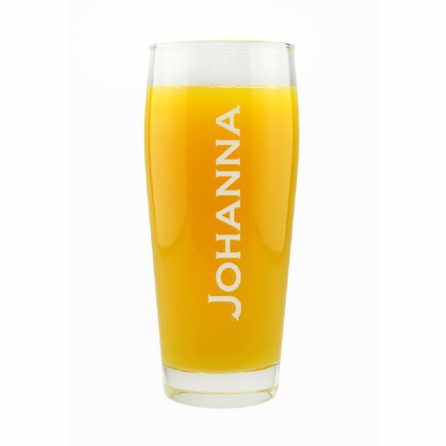 Trinkglas mit Namen