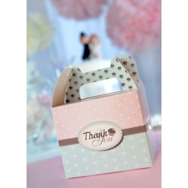 "Cupcake Box ""Thank you"""
