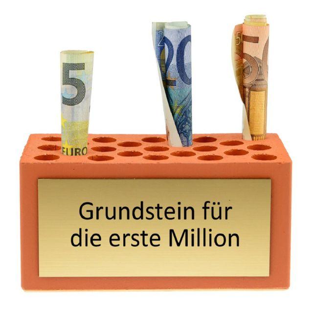 Grundstein für die erste Million - personalisiert