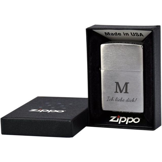 """Zippo """"Liebe Dich"""""""